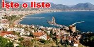 Alanya'dan iki turizm şirketine vergi istisnası