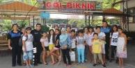 Alanya polisi Dimçayı#039;nda öğrencilerle buluştu