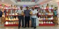 Alanyaspor abajurları Alanyum#039;da sergileniyor