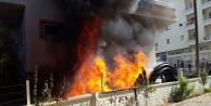 Komşu Gazipaşa'da korkutan yangın