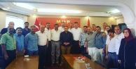 MHP#039;li ilçe başkanları toplandı