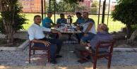 Muhtar'dan Başkan Yücel'e piknik masası teşekkürü