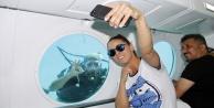 Niran Ünsal#039;ın Alanya#039;da denizaltı keyfi