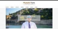 Tuna kendi adına internet sitesi kurdu