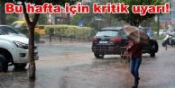 Alanya Dikkat! Sağanak yağışlar geliyor