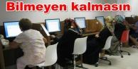 Alanya#039;ya ücretsiz bilgisayar kursu