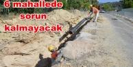 ASAT#039;tan Alanya#039;ya 37 kilometrelik kanalizasyon