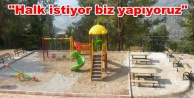 Büyükşehir#039;den Alanya#039;ya yeni park