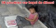 Çocuklarını sokakta dilendiren Suriyeliler yakalandı