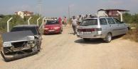 Komşuda kaza: 3 kişi yaralandı