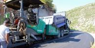 Sugözü yolunda sıcak asfalta devam