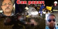 Ticari taksi kaza yaptı: 4 ölü var