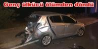 Alanya#039;da feci kaza! Nişanlısıyla birlikte...