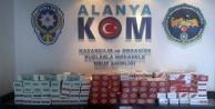 Alanya#039;da kaçak tütün operasyonu