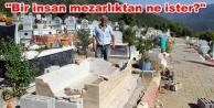 Alanya#039;da mezarlık saldırısı