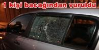 Alanya#039;da şok! Otomobile kurşun yağdırdılar
