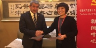 TGK , Çin Gazeteciler Birliği ile işbirliği protokolü imzaladı