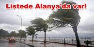 4 il ve ilçelerine fırtına ve yağmur uyarısı
