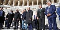 ABli Bakanlar Aspendosa hayran kaldı