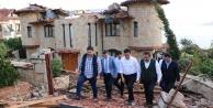 AK Partili vekillerden hortum ziyareti