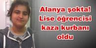 Alanya Bahçeşehir Koleji#039;ni yıkan ölüm