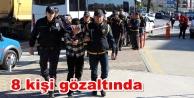 Alanya#39;daki hırsızlık çetesi yakalandı