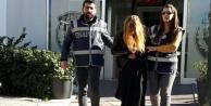 Kadın hırsız tutuklandı