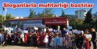 Mahmutlar#039;da çocuklar yürüyüş yaptı