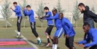 Malatyaspor Alanya#039;ya havadan geldi