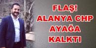 Alanya CHP Gençlik Kolları Başkanı gözaltına alındı