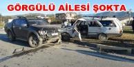 Alanya plakalı araç Gazipaşa'da kaza yaptı