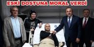 Bakan Çavuşoğlu#039;ndan anlamlı ziyaret