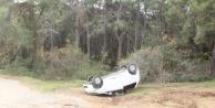 Komşuda feci trafik kazası: 2 yaralı var