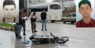 Liseli gençler motosiklet kurbanı oldu