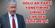 Olay isim CHP#039;den istifa etti