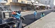 Sanayi Sitesi#039;ne sıcak asfalt