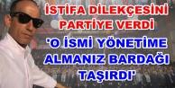 Alanya Ak Parti#039;de flaş istifa!