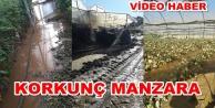 Alanya#039;da seraları su bastı! Büyük maddi hasar var