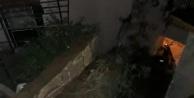 Alanya Kalesi#039;ne yıldırım düştü