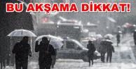 Alanya#039;ya sağanak yağış uyarısı!