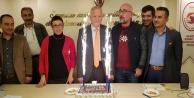 ALESO#039;da Demir#039;e pastalı kutlama