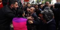 Antalya#039;da CHP#039;nin devir teslim töreninde arbede