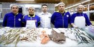 Balık Çarşısına yoğun ilgi