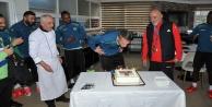Barışa doğum günü kutlaması