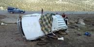 Feci trafik kazası: 1 ölü, 2 yaralı var