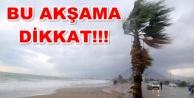 Meteoroloji#039;den kuvvetli fırtına uyarısı