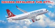 THY uçağı Alanya-GZP#039;ye inemedi