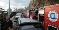 Yat limanındaki restoran yangını korkuttu