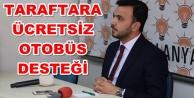 Ak Parti#039;den Alanyaspor#039;a tam destek