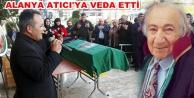 Alanya Adliyesi önünde tören düzenledi